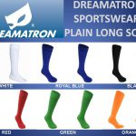 DREAMATRON-SPORTSWEAR-PLAIN-LONG-SOCKS